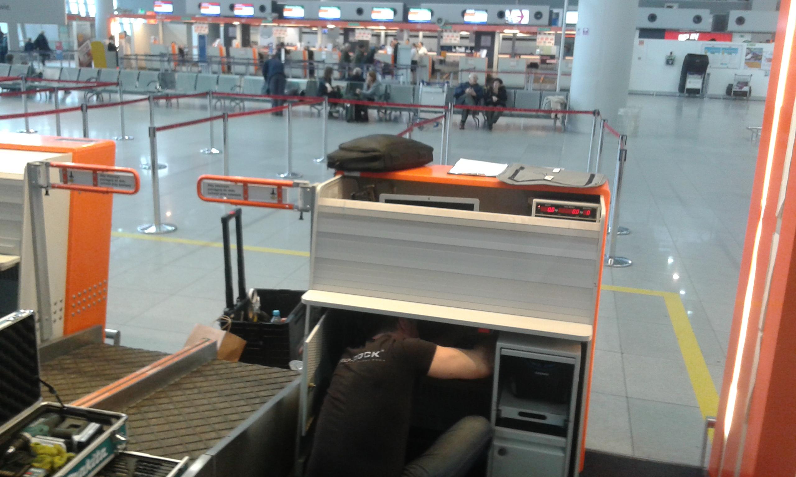 Pętla indukcyjna Lotnisko Chopina