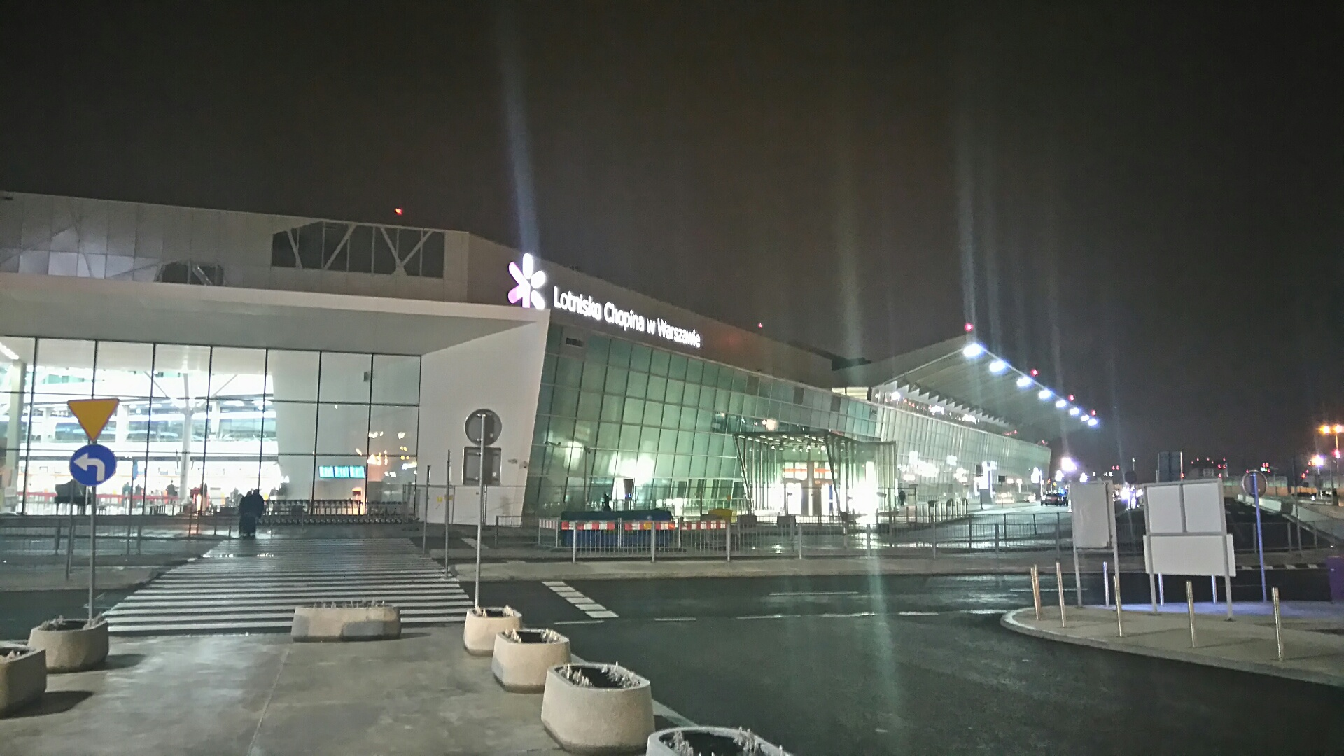 Lotnisko Chopina marzec 2016